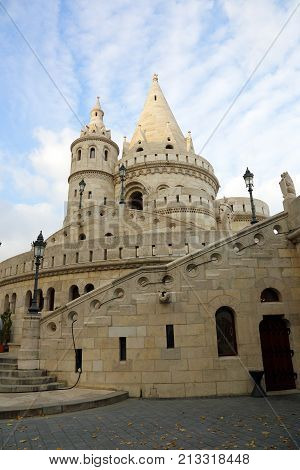 Budapest the building of the Fishermen's Bastion