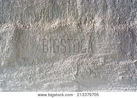 Background Concrete Wall, Traces Of Weathering, The Worn Wall Damaged Paint Old Paint. Remnants Of O