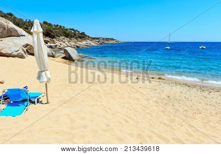 Summer Sea Beach (halkidiki, Greece).