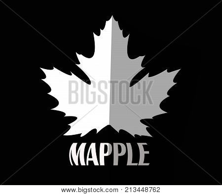 These mapple leaf illustrations can be used as product motifs and tattoos, and can also be used for application symbols