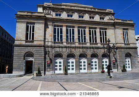 Theater Campoamor in Oviedo