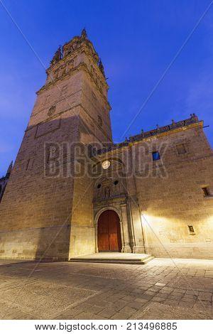 New Cathedral of Salamanca. Salamanca Castile and Leon Spain.