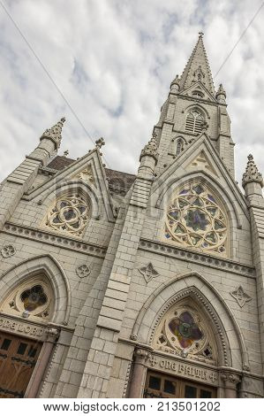 St. Mary's Basilica in Halifax Nova Scotia. Halifax Nova Scotia Canada.