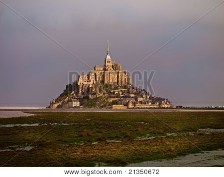 Mont Saint-michel Castle