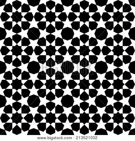 Geometric Arabic Seamless Pattern.
