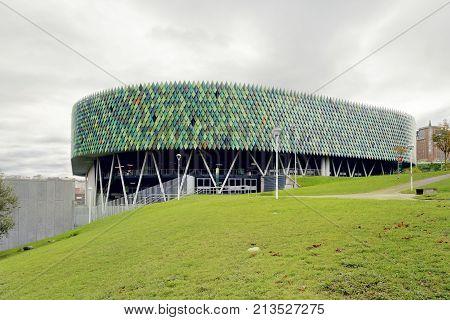 Bilbao Arena, Is An Indoor Arena In Bilbao, Spain.