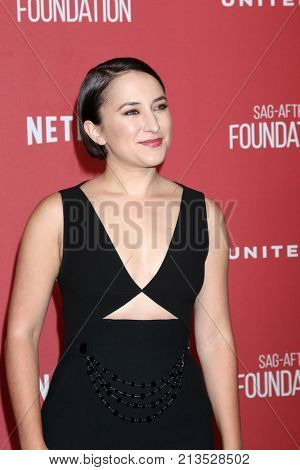 LOS ANGELES - NOV 9:  Zelda Williams at the Patron of the Artists Awards 2017 at Wallis Annenberg Centeron November 9, 2017 in Beverly Hills, CA