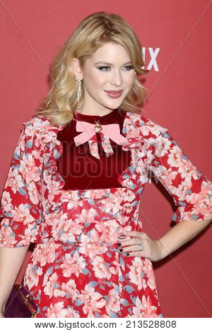 LOS ANGELES - NOV 9:  Renee Olstead at the Patron of the Artists Awards 2017 at Wallis Annenberg Centeron November 9, 2017 in Beverly Hills, CA