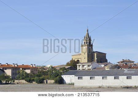 Zarraton Village In La Rioja, Spain.
