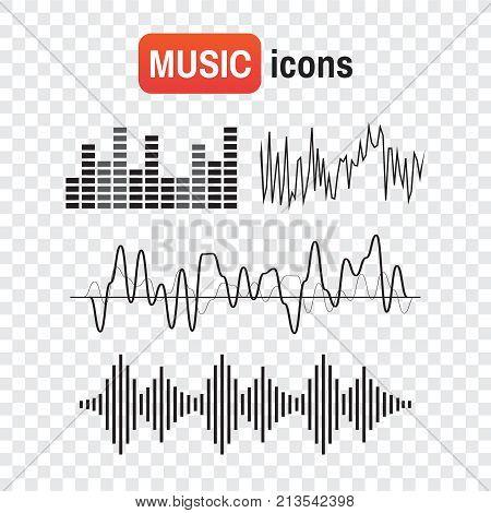 Wave Sound Music. Sound Waves Concept