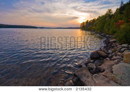 Algonquin Provincial Park, Interior Lake Sunset