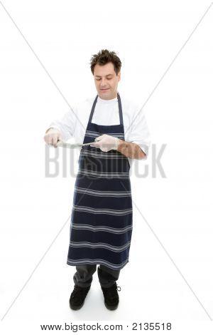 Butcher Sharpening Knives