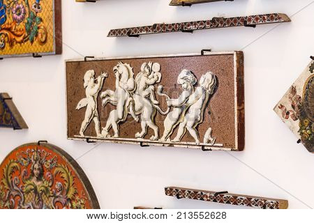 Wall Decoration Of Berlin Cathedral