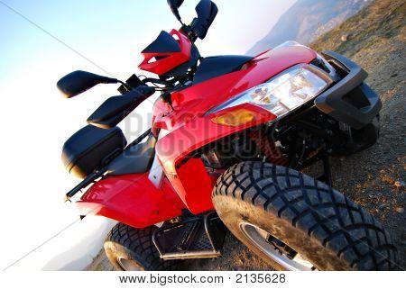 Red Quad Diagonally