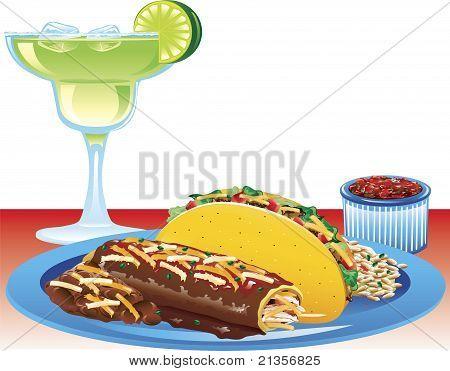Enchilada Meal