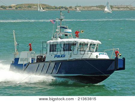 Hafen-Polizei-Boot
