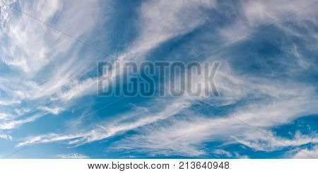 Gorgeous Autumn Sky With Clouds