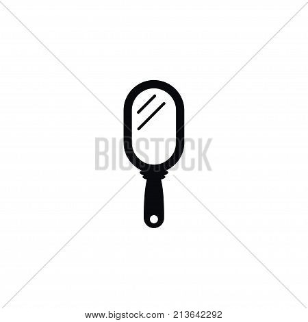 Hand-Mirror Vector Element Can Be Used For Peeper, Hand, Mirror Design Concept.  Isolated Peeper Icon.