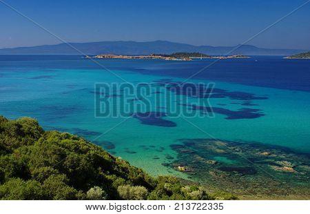 Islands Bathing In Crystal Waters