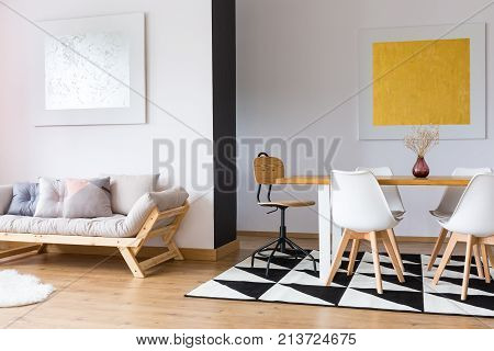 Elegant Interior Of Day Room