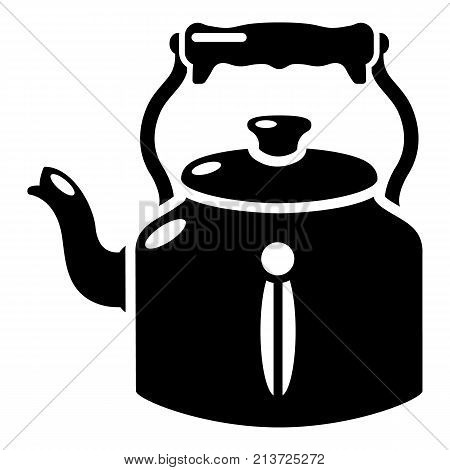 Kettle old icon. Simple illustration of kettle old vector icon for web