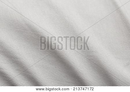 background of white cloth fabric . Photo of an abstract texture