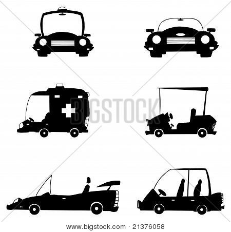 Black And White Vehicles