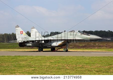 Slovakia Mig-29 Fulcrum Fighter Jet Aircraft
