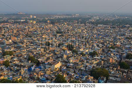 Cityscape Of Jodhpur, India