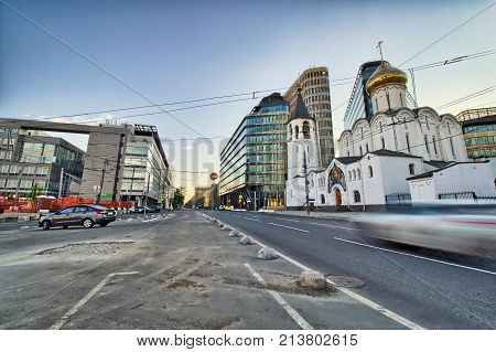 Church of Nikolaya Chudotvortsa Tverskoy Old Believers' Community - Moscow panorama