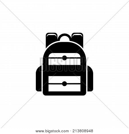 Backpack icon. Vector graduation Icon. Education academic degree. Premium quality graphic design. Signs outline symbols collection simple icon for websites web design mobile app on white background