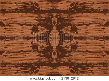 Wooden planks overlay texture for your design. Shabby chic background. Easy to edit vector wood texture backdrop. Brown seamless wooden texture. Boards background vector. Vector illustration. Eps 10.