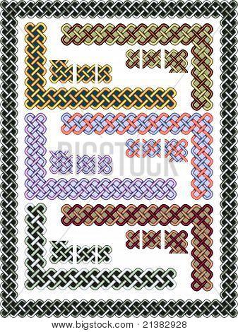 Set Celtic Patterns For A Frame