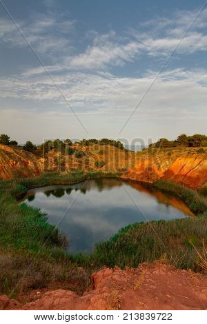 Abandoned Bauxite Mine