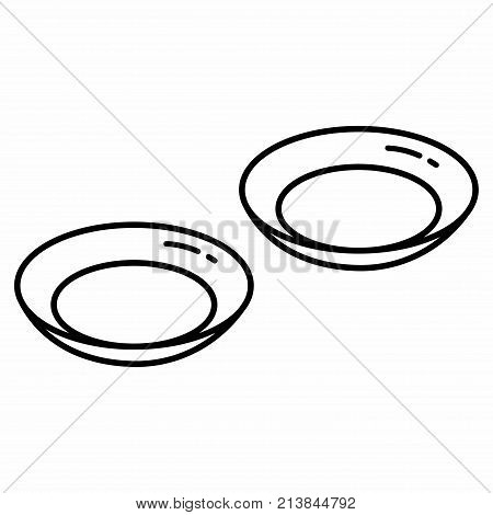Optic Contact Lenses. A contact lens, or simply contact, is a thin lens placed directly on the surface of the eye. Contact lenses are considered medical devices and can be worn to correct vision, or for cosmetic or therapeutic reasons.