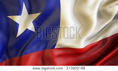 Waiving flag of Chile, Patriot of Chile