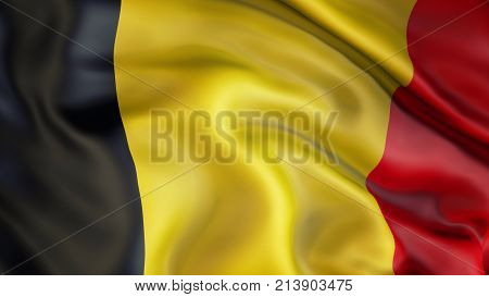 Waiving flag of Belgium, Patriot of Belgium