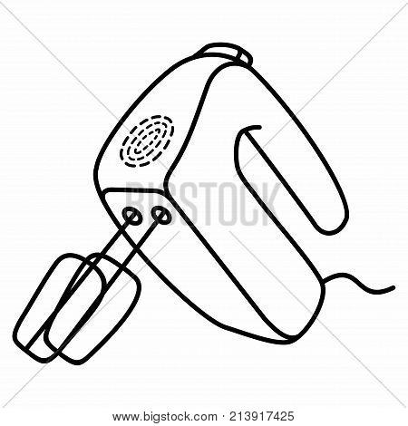 Electric Hand Mixer Blend Blender Household Kitchen Equipment