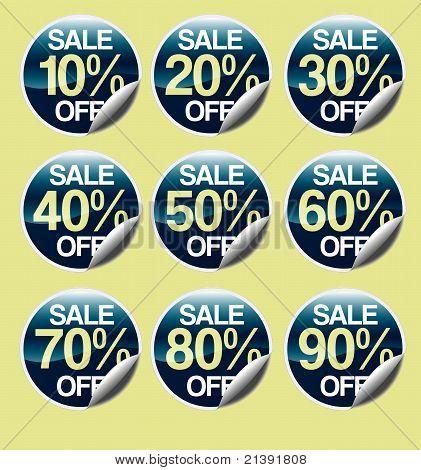Sale stickers #2