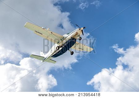 Aircraft Fly On Air In Philipsburg, St Maarten