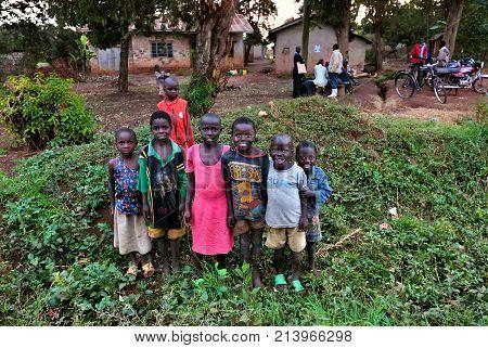 Uganda. African Children