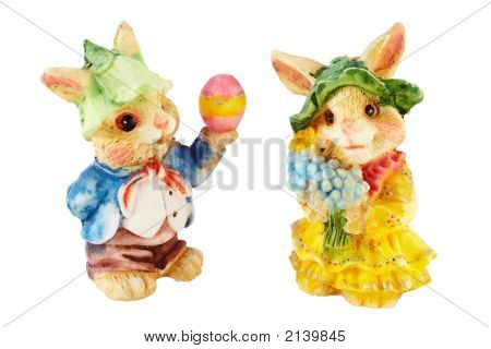 Easter Mr. And Mrs. Bunny