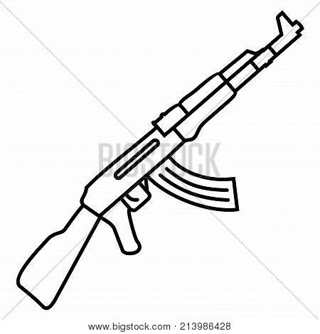 Automatic Machine Weapon War Conflict Automatic Rifle Machine