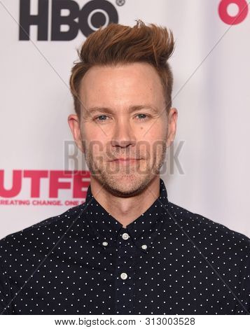 LOS ANGELES - JUL 20:  Christopher Hanke arrives for the Outfest 'Sell By' Premiere on July 20, 2019 in Hollywood, CA