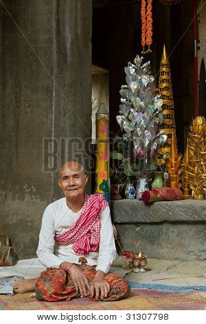 Temple Keeper of Ta Phrom
