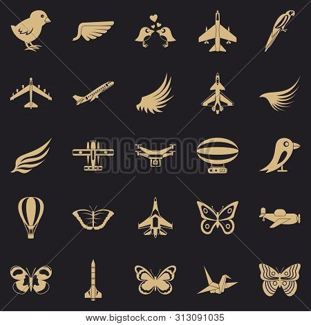 Fowl Icons Set. Simple Set Of 25 Fowl Icons For Web For Any Design
