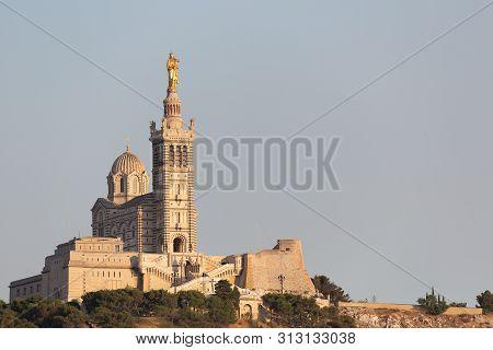 Marseille Notre Dame De La Garde View From The Hill