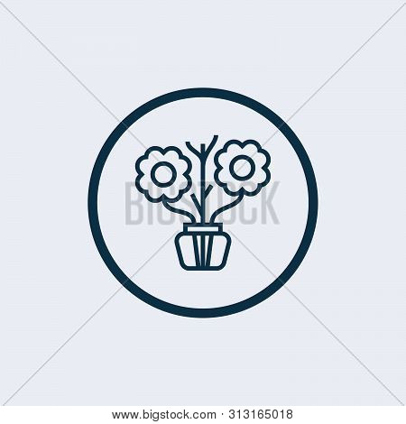 Flower Therapy Icon Isolated On White Background. Flower Therapy Icon Simple Sign. Flower Therapy Ic