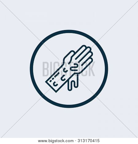 Hand wash icon isolated on white background. Hand wash icon simple sign. Hand wash icon trendy and modern symbol for graphic and web design. Hand wash icon flat vector illustration for logo, web, app poster