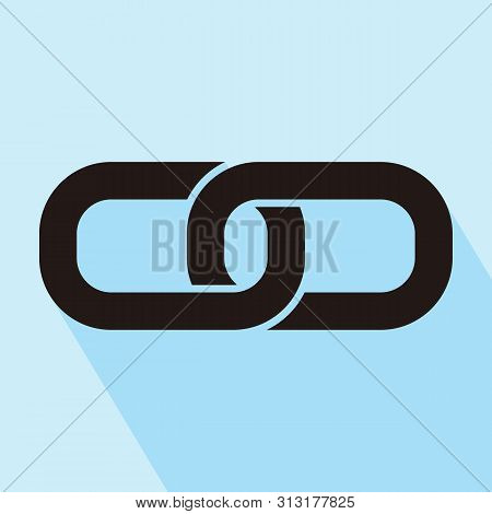 Link Icon Isolated On White Background. Link Icon In Trendy Design Style. Link Vector Icon Modern An